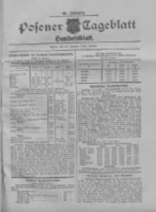 Posener Tageblatt. Handelsblatt 1909.01.28 Jg.48