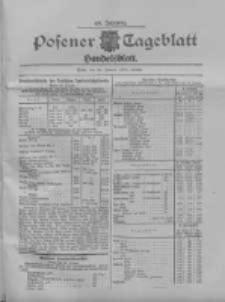 Posener Tageblatt. Handelsblatt 1909.01.29 Jg.48