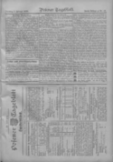 Posener Tageblatt. Handelsblatt 1909.02.08 Jg.48