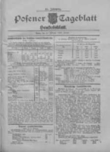 Posener Tageblatt. Handelsblatt 1909.02.10 Jg.48