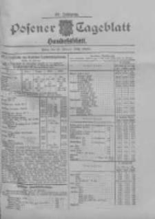 Posener Tageblatt. Handelsblatt 1909.02.19 Jg.48
