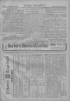 Posener Tageblatt. Handelsblatt 1909.02.23 Jg.48