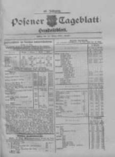 Posener Tageblatt. Handelsblatt 1909.03.12 Jg.48