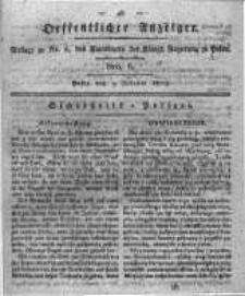 Oeffentlicher Anzeiger. 1819.02.09 Nro.6