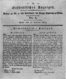 Oeffentlicher Anzeiger. 1819.02.23 Nro.8