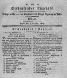 Oeffentlicher Anzeiger. 1819.10.05 Nro.40