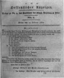 Oeffentlicher Anzeiger. 1820.02.22 Nro.8
