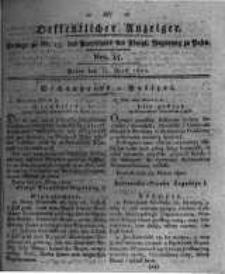 Oeffentlicher Anzeiger. 1820.04.11 Nro.15