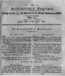 Oeffentlicher Anzeiger. 1820.12.05 Nro.49