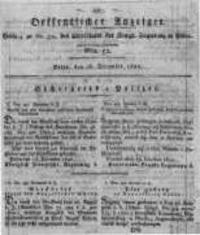 Oeffentlicher Anzeiger. 1820.12.26 Nro.52