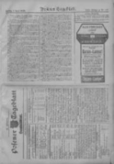 Posener Tageblatt. Handelsblatt 1909.04.08 Jg.48