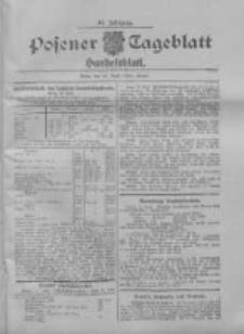 Posener Tageblatt. Handelsblatt 1909.04.17 Jg.48