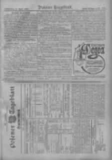 Posener Tageblatt. Handelsblatt 1909.04.21 Jg.48
