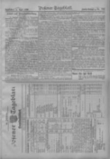 Posener Tageblatt. Handelsblatt 1909.04.23 Jg.48