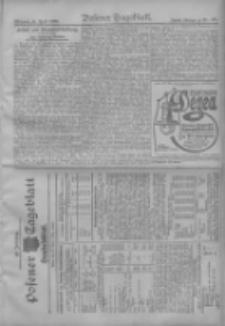 Posener Tageblatt. Handelsblatt 1909.04.27 Jg.48