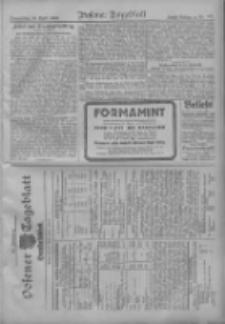 Posener Tageblatt. Handelsblatt 1909.04.28 Jg.48