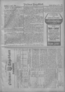 Posener Tageblatt. Handelsblatt 1909.04.29 Jg.48