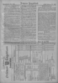 Posener Tageblatt. Handelsblatt 1909.05.21 Jg.48