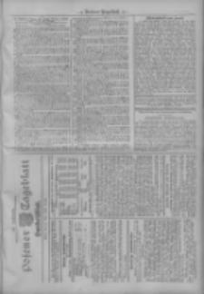 Posener Tageblatt. Handelsblatt 1909.05.22 Jg.48