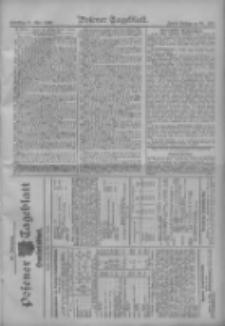 Posener Tageblatt. Handelsblatt 1909.05.24 Jg.48