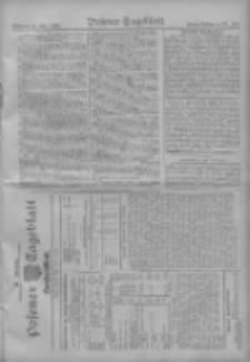 Posener Tageblatt. Handelsblatt 1909.05.25 Jg.48