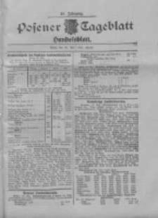 Posener Tageblatt. Handelsblatt 1909.05.29 Jg.48