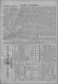 Posener Tageblatt. Handelsblatt 1909.06.01 Jg.48