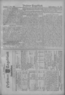 Posener Tageblatt. Handelsblatt 1909.06.07 Jg.48