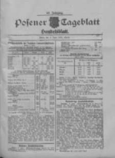 Posener Tageblatt. Handelsblatt 1909.06.09 Jg.48