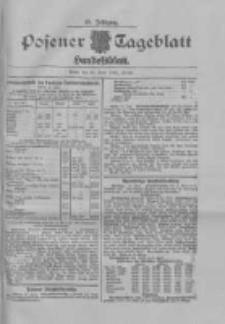 Posener Tageblatt. Handelsblatt 1909.06.12 Jg.48