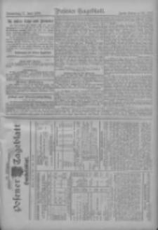 Posener Tageblatt. Handelsblatt 1909.06.16 Jg.48
