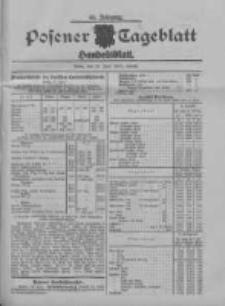 Posener Tageblatt. Handelsblatt 1909.06.18 Jg.48