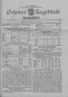 Posener Tageblatt. Handelsblatt 1909.06.22 Jg.48