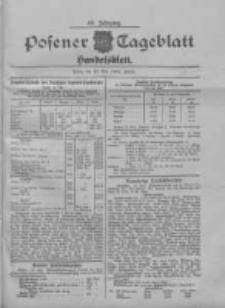 Posener Tageblatt. Handelsblatt 1909.05.12 Jg.48