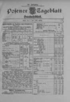 Posener Tageblatt. Handelsblatt 1909.07.09 Jg.48