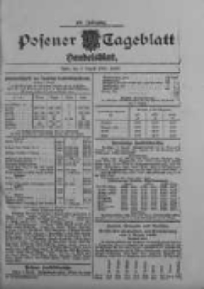 Posener Tageblatt. Handelsblatt 1909.08.03 Jg.48