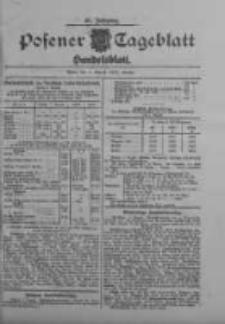 Posener Tageblatt. Handelsblatt 1909.08.04 Jg.48
