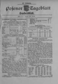 Posener Tageblatt. Handelsblatt 1909.08.05 Jg.48
