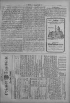 Posener Tageblatt. Handelsblatt 1909.08.07 Jg.48
