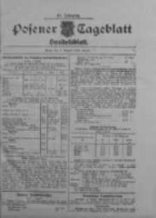 Posener Tageblatt. Handelsblatt 1909.08.09 Jg.48