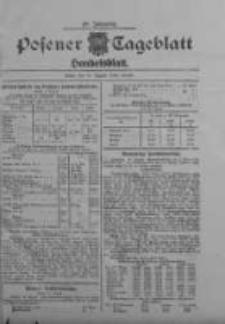Posener Tageblatt. Handelsblatt 1909.08.10 Jg.48