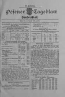 Posener Tageblatt. Handelsblatt 1909.08.12 Jg.48