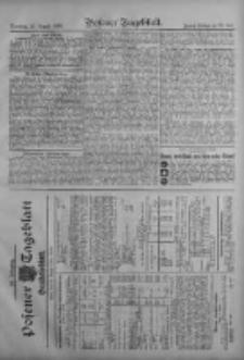 Posener Tageblatt. Handelsblatt 1909.08.16 Jg.48