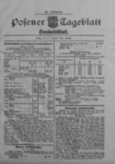 Posener Tageblatt. Handelsblatt 1909.08.18 Jg.48