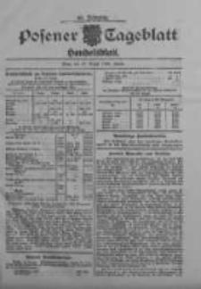 Posener Tageblatt. Handelsblatt 1909.08.19 Jg.48