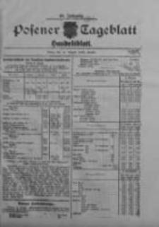 Posener Tageblatt. Handelsblatt 1909.08.20 Jg.48