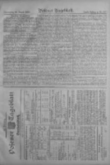 Posener Tageblatt. Handelsblatt 1909.08.25 Jg.48