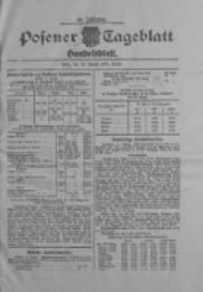 Posener Tageblatt. Handelsblatt 1909.08.26 Jg.48