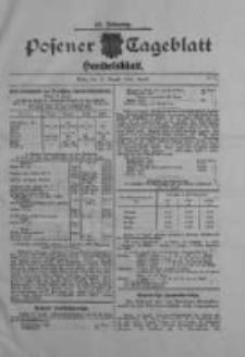 Posener Tageblatt. Handelsblatt 1909.08.30 Jg.48