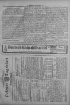 Posener Tageblatt. Handelsblatt 1909.09.07 Jg.48